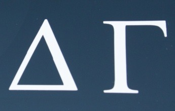 greekgirlshop:  Delta Gamma Decal