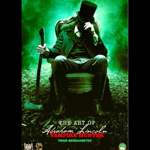 The #Art of #AbrahamLincolnVampireHunter #Vampire #Aspen #Movie  (Taken with Instagram)