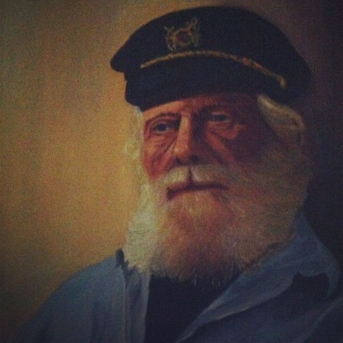 @prescriptionpat hangin' with Captain Jim (Taken with Instagram at Captain Jims)