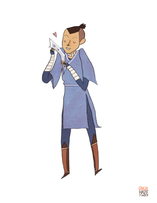 gingerhaze:  A commission for Brieanna, who asked for Sokka! And so here is Sokka.
