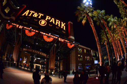 stadium-love-:  San Fran by Dave Tefft AT&T Park: Home of the San Francisco Giants