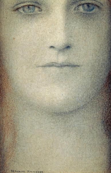 artemisdreaming:  Study of a Woman Fernand Khnopff