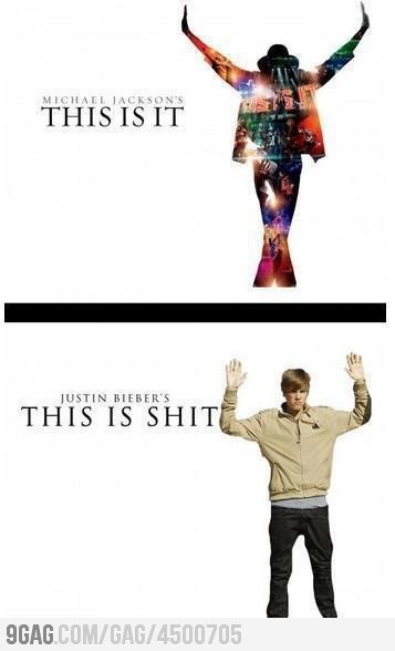 sgtpeppersrevolver:  Learn the difference Beliebers, quit comparing Michael Jackson the King Of Pop to Justin Bieber