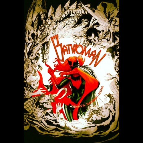 #BatWoman Beautiful Cover! #JHWilliams #BatFamily #DC #Comics #Batman (Taken with Instagram)