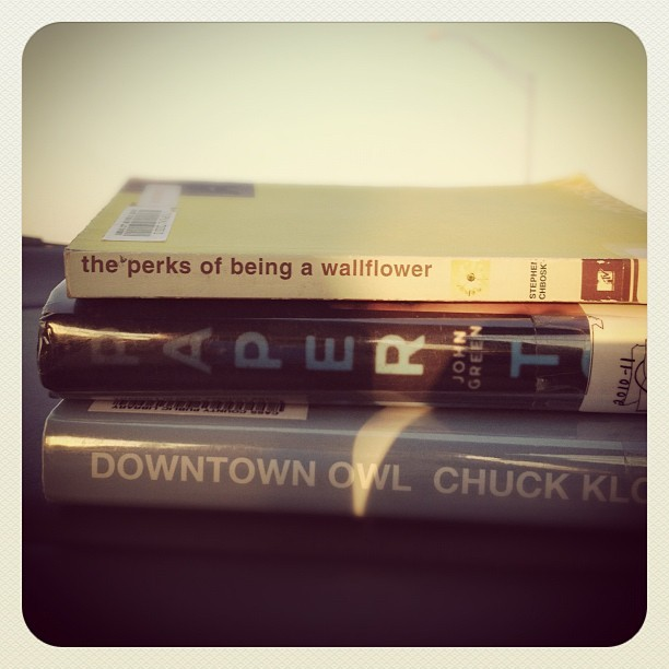 Which one do I read first!? (Taken with Instagram)