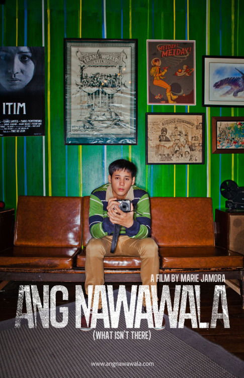 RINGFLASH-AN TAYO! Ang Nawawala: A film by Marie Jamora for Cinemalaya 2012! More character posters coming soon :)  FOLLOW: angnawawala 's Tumblr!  Gibson Bonifacio. (in high resolution)