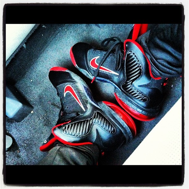 Lebrons On My Feet 👍👌! (Taken with Instagram)