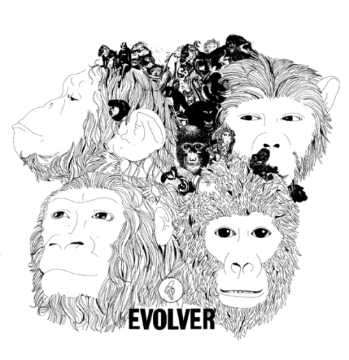 Evolver T-shirt from Go Ape (via @boingboing)