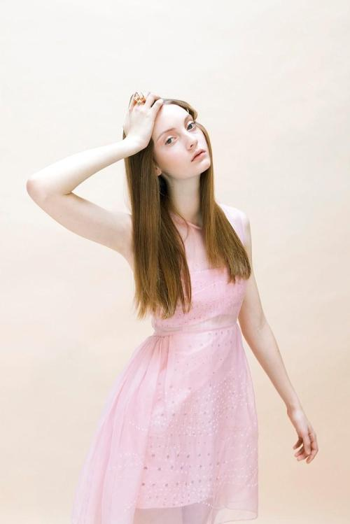 "lavaleur:  Codie Young ""New Girls"" Dossier SS11 by Skye Parrott"