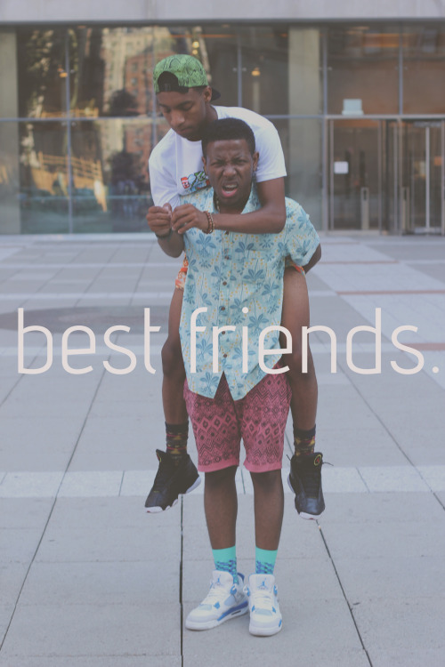 stadography:  best friends.