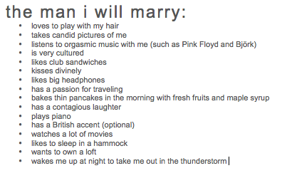 Dear Man I Marry,