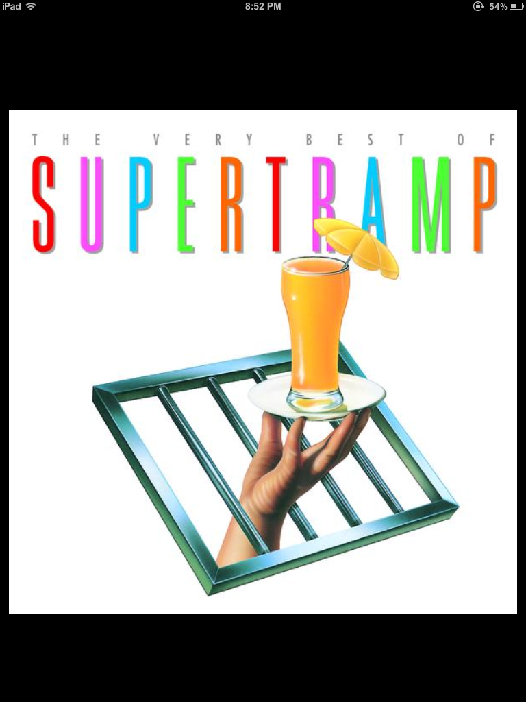 Supertramp gets me… wet
