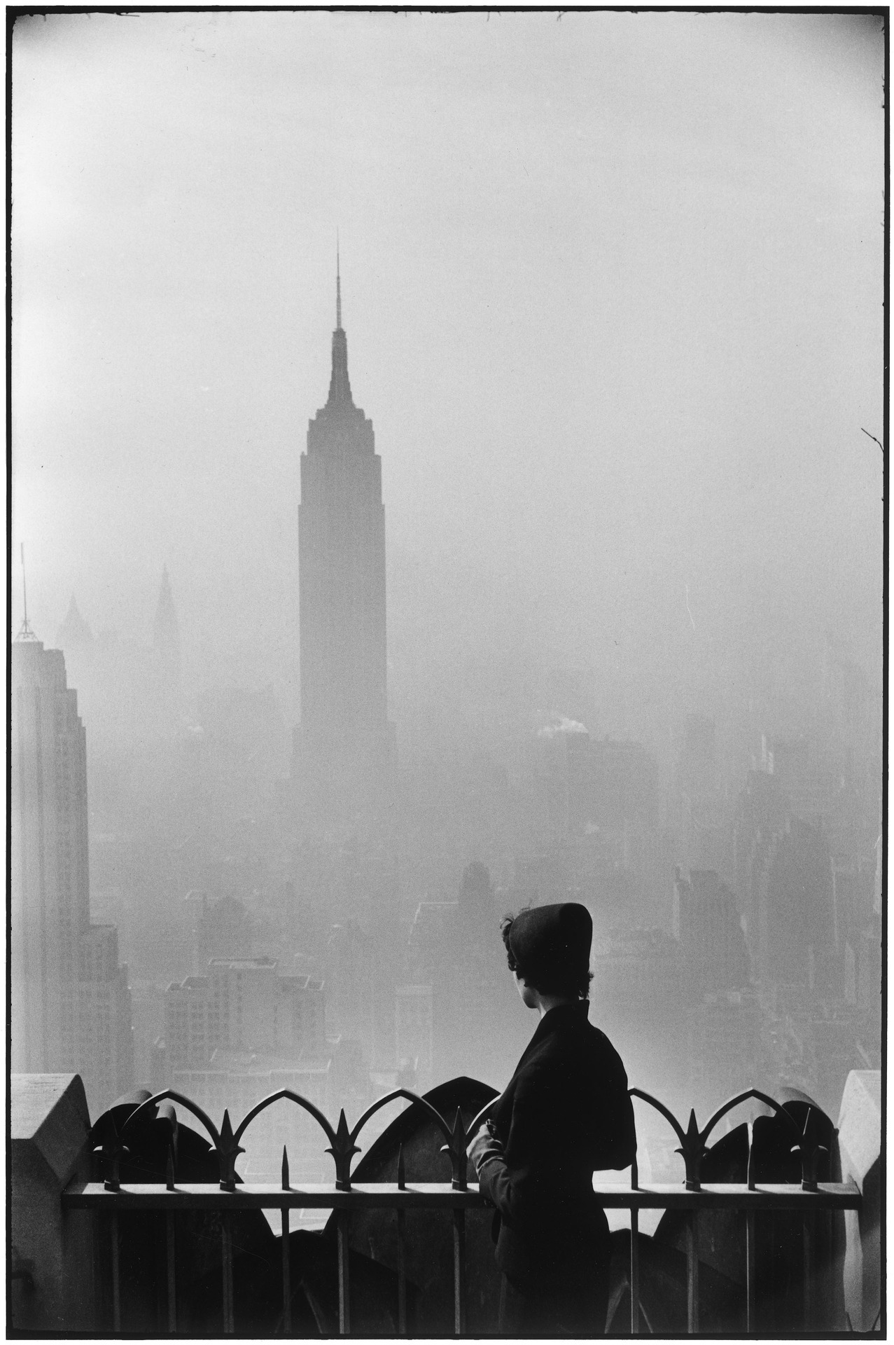 Empire State Building, New York, 1955. By Elliott Erwitt