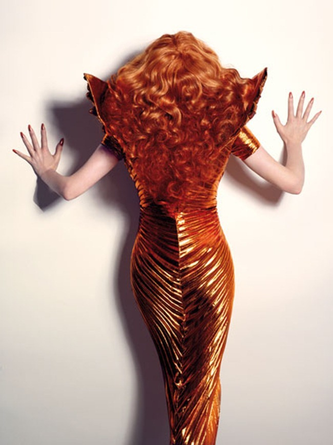 Tilda Swinton - Candy #4 by Xevi Muntane, Summer 2012