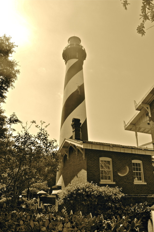 alexandramaecrousephoto:  St. Augustine Lighthouse Taken April 2012 Nikon D3100