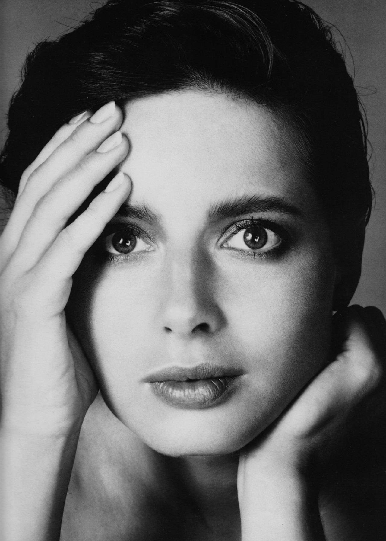 Isabella Rossellini - Vogue by Richard Avedon, 1982