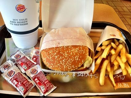 BK WHOPPER … My way.