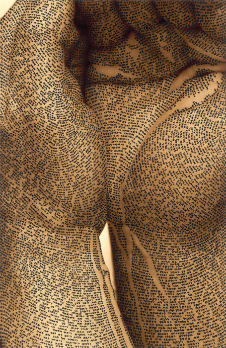 "2headedsnake:   ronit bigal; Ink, 2009, Mixed Media ""untitled"""