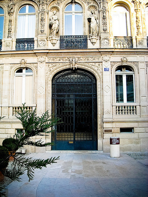 | ♕ |  Entrance of Hôtel de la Païva - 9e Paris  | by © Audrey