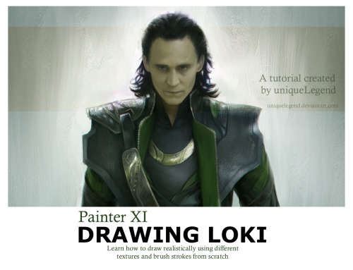 As promised - the tutorial of how I have been drawing Loki realistically has now been posted.