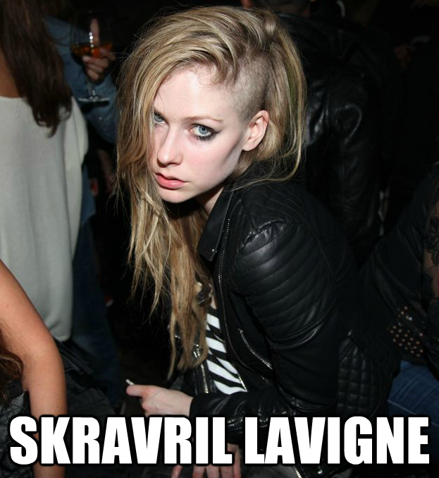 Avril and Skrillex