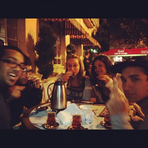 @ihatesean @sabrinafracc @fuck_nick @alexadimaio (Taken with Instagram at Masal Cafe & Lounge)