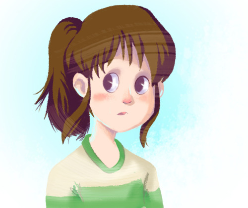 megzilla87:  Watching Spirited Away, and wanted to doodle at the same time.