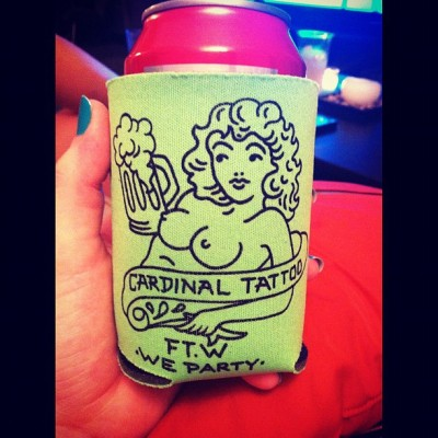 there are boobies on my koozie  (Taken with Instagram)