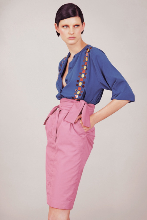 Patricia van der Vliet for Fendi Resort 2013