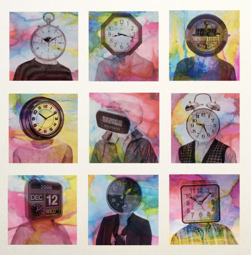 Portraits of Time – Mixed Media Work by Katie Roseff (vía Design You Trust – Design Blog and Community)