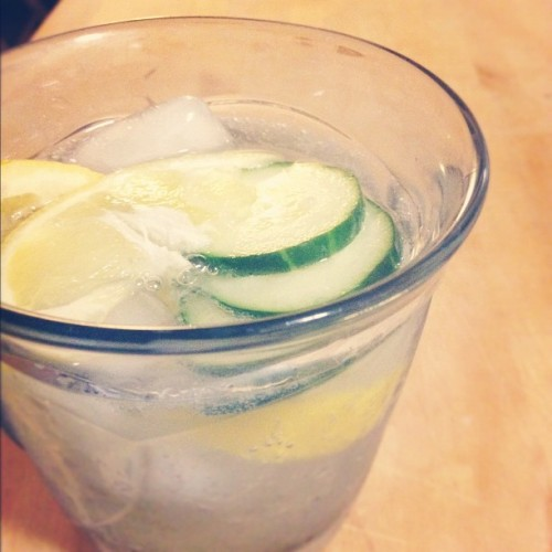 'Tis the season for the post-work G&T. (Taken with Instagram)