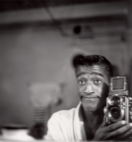 Sammy Davis jr was a camera lover.
