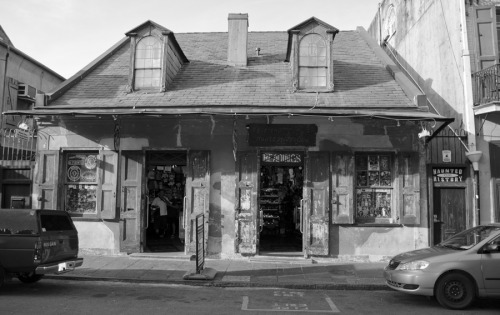 "bencarver:  Reverend Zombie's House of Voodoo. Voodoo is more than a belief system, it is a complete way of life, including culture, philosophy, language, art, dance, music and medicine. A third of the population in New Orleans still practices or believes in Voodoo.  Despite its reputation it is considered a force for good. I bought a chicken foot for my roommate Sabri for protection, and a love potion for Bobby. I also purchased a few things for myself but I won't go into that. I'm not a religious man but talismans can focus the mind. My people, the Cajuns, also observe a form of white magic that is integrated with Christianity. Their witch doctors, or ""Traiteurs"" are still somewhat popular in the Acadian region of South Louisiana. My mother brought my father to one of these shortly before he died of cancer.    I love this place.  I bought some lovely sandalwood oil last time I was there.  I always make a point to stop in when I'm in New Orleans."