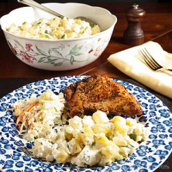 American Potato Salad click image for recipe