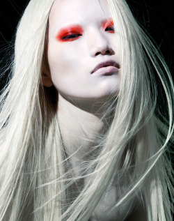 Danni Li by Henrique Gendre for ROUGE Magazine #3
