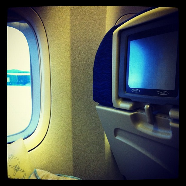 See you sooooooooon~! #strangetour #britishairways #yvr #heathrow (Taken with Instagram)