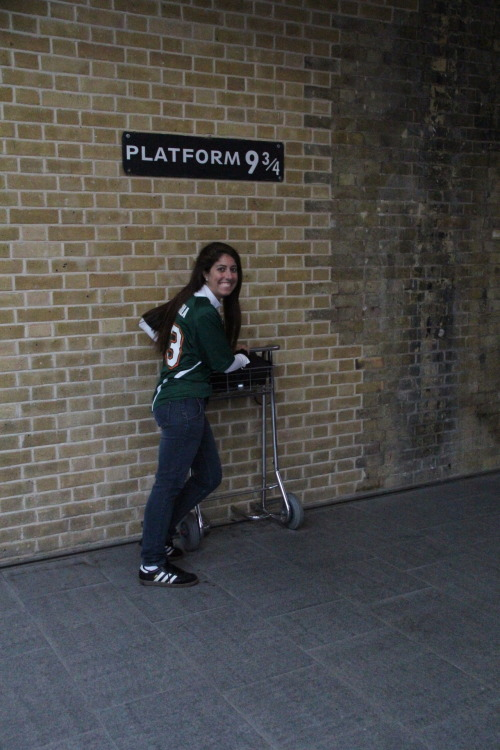 When Hipster Witch visited Platform 9 3/4