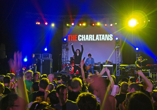 Concert photography for Topman presents: The Charlatans Live In Concert in Singapore