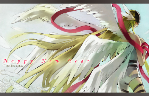 I always loved Angewomon. :3