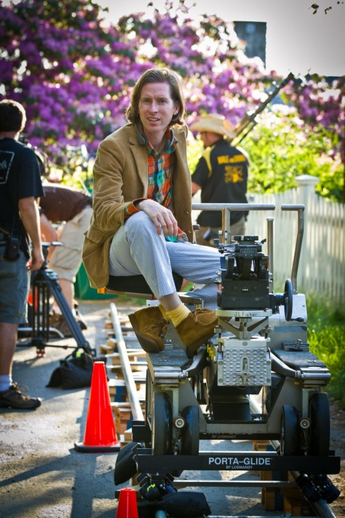 Wes Anderson directs Moonrise Kingdom