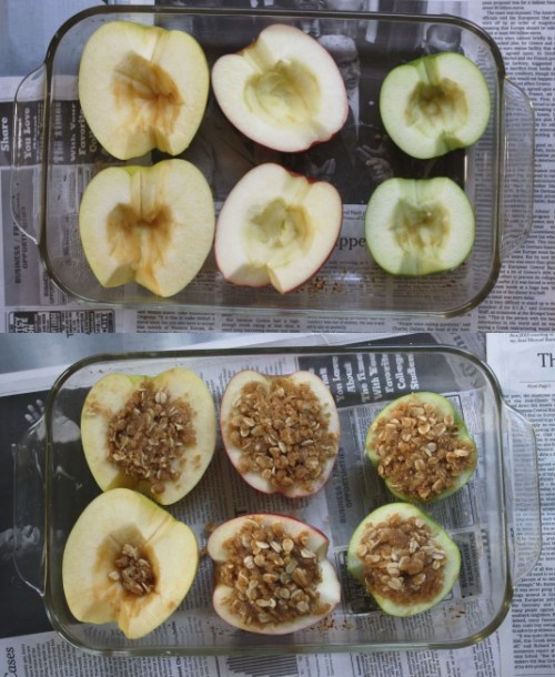 keepcalmanddieton:  thecakebar:   Baked apple crisp  (via imgTumble)