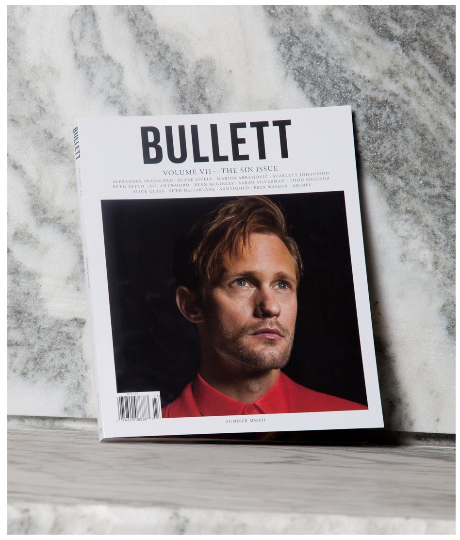 "v-om:  BULLETT magazine summer issue ""the sin issue"""