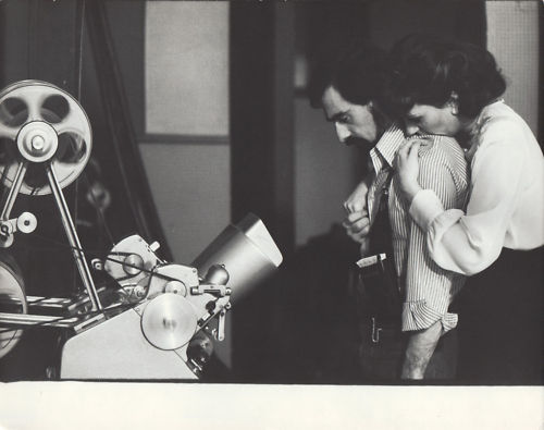 oldloves:  Martin Scorsese & Liza Minnelli on the set of New York, New York (1977)