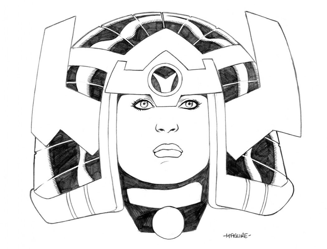 Big Barda by Kevin Maguire
