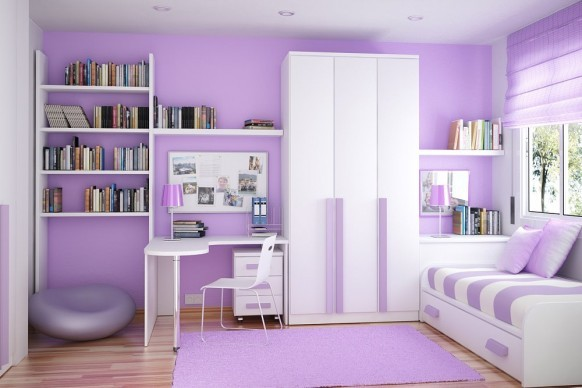homedesigning:  (via Space Saving Ideas for Small Kids Rooms)