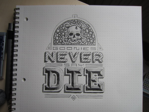 visualgraphic:  Goonies never say die