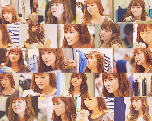 """How many weird faces can Jessica Jung make at one event?"""