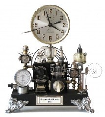 Fantastical steampunk clock :)