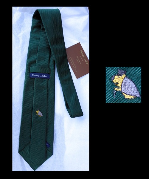 The StyleForum tie by Henry Carter Menswear with Henry the Wombat! This was commissioned by the Aussie members of the forum and I have to say it turned out superbly!
