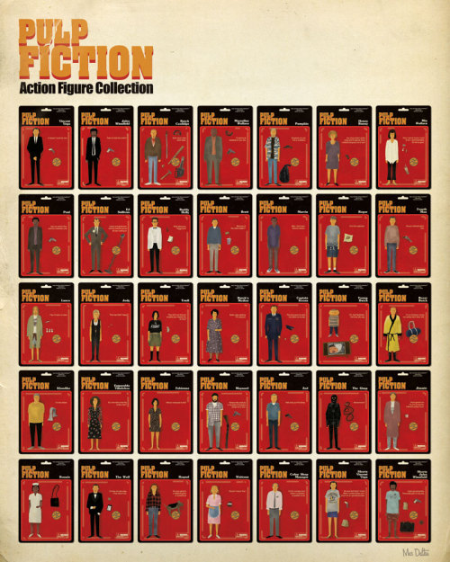 The Pulp Fiction Action Figure Collection by Max Dalton